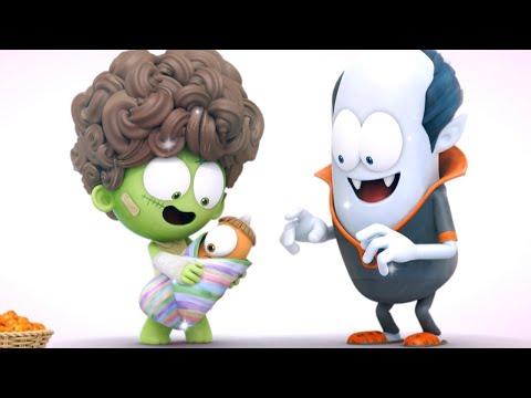 Spookiz | The Monster Family | Funny Cartoon for Children | WildBrain Cartoons