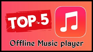 Top 5 offline Music player for Android No ads best Equalizer much more features 😃😃 | app edge | screenshot 2