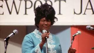 """Mahalia Jackson - """"Elijah Rock"""" from """"Louis Armstrong at Newport 1970"""""""