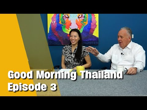Good Morning Thailand   1 minute Covid test, 5 year tourism recovery, Bangkok update