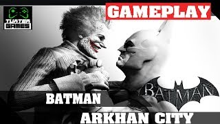 Gameplay Batman Arkhan City no Linux