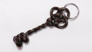 """Paracord Tutorial: How You Can Make A Parachute Cord Key Keychain"""