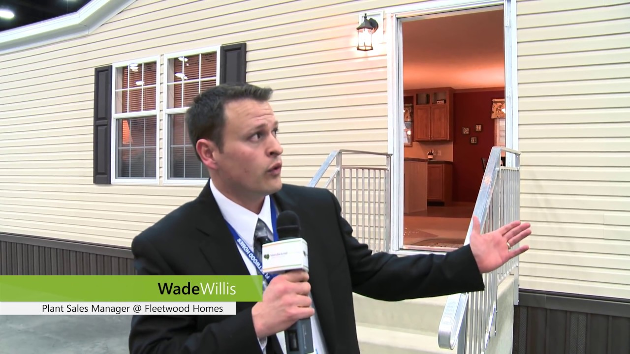 Louisville Manufactured Housing Show: Fleetwood Homes Manufactured Home Tour
