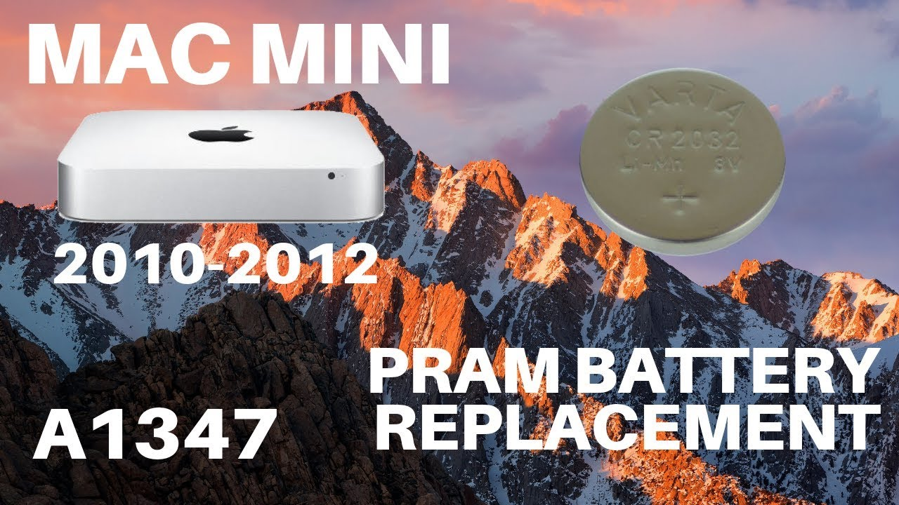 Mac Mini A1347 - PRAM Battery Replacement (2010-2012)