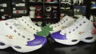 "Packer Shoes x Reebok Question ""For Players Use Only"""