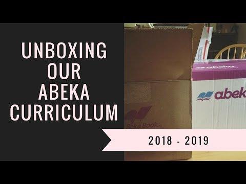 Homeschool Curriculum Unboxing // Abeka // 2018-2019