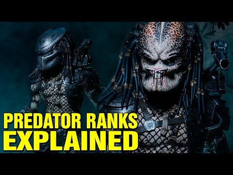 PREDATOR: RANK SYSTEM EXPLAINED - YAUTJA SOCIETY AND HIERARCHY