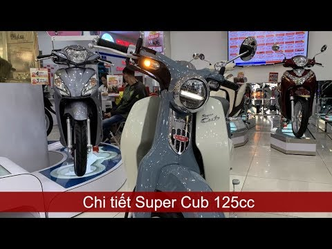 Honda Super Cup 125cc has a special price of 85tr   Mekong today