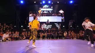 Outbreak Europe 2018   1vs1 Bgirl Top 16   Kami vs Becca