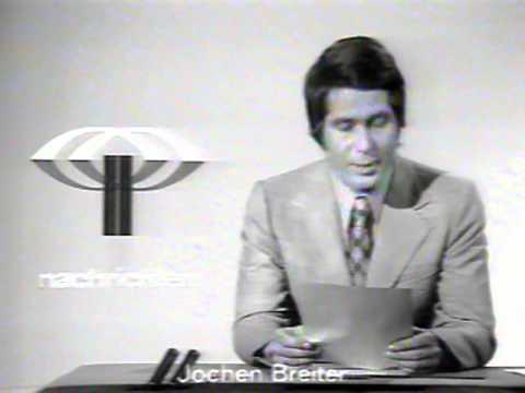 Sehr alte zdf heute nachrichten von 1973 oder fr her youtube for Nachrichtensprecher zdf
