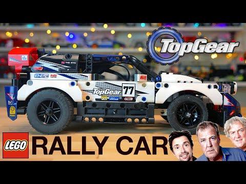 42109 LEGO Technic Top Gear Rally Car /НОВЫЙ ДИФФЕРЕНЦИАЛ /ТопЖир пушка-гонка (нет). Подробный ОБЗОР