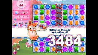 Candy Crush Saga Level 3484 (Impossible without boosters)