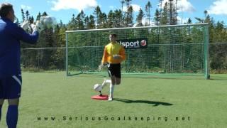 Goalkeeper Training - Footwork & Agility - Futpro Trainer - Seriousgoalkeeping.net