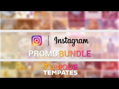 instagram promo bundle videohive after effects template youtube. Black Bedroom Furniture Sets. Home Design Ideas