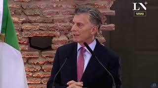 G-20: Conferencia de Macri junto al Primer Ministro Giuseppe Conte