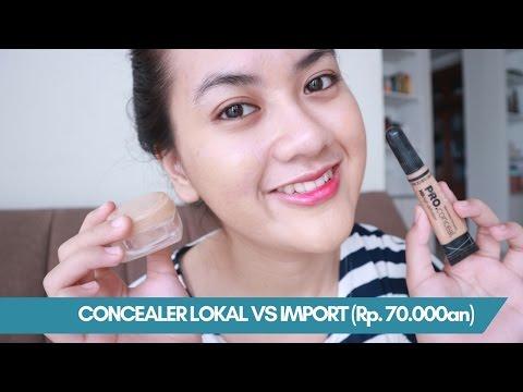 CONCEALER LOCAL VS IMPORT (on acne face) | La Tulipe vs LA Girl Pro Conceal