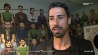 Sami Khedira im Jungen Schloß Stuttgart | Einsteins Geburtshaus | Moneypenny Investmentclub