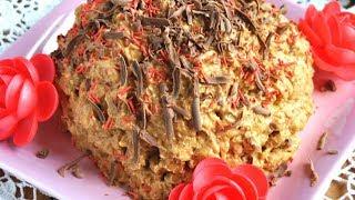 ВКУСНЫЙ ТОРТ МУРАВЕЙНИК Простые рецепты тортов Простые десерты  Как приготовить торт Домашнии торты