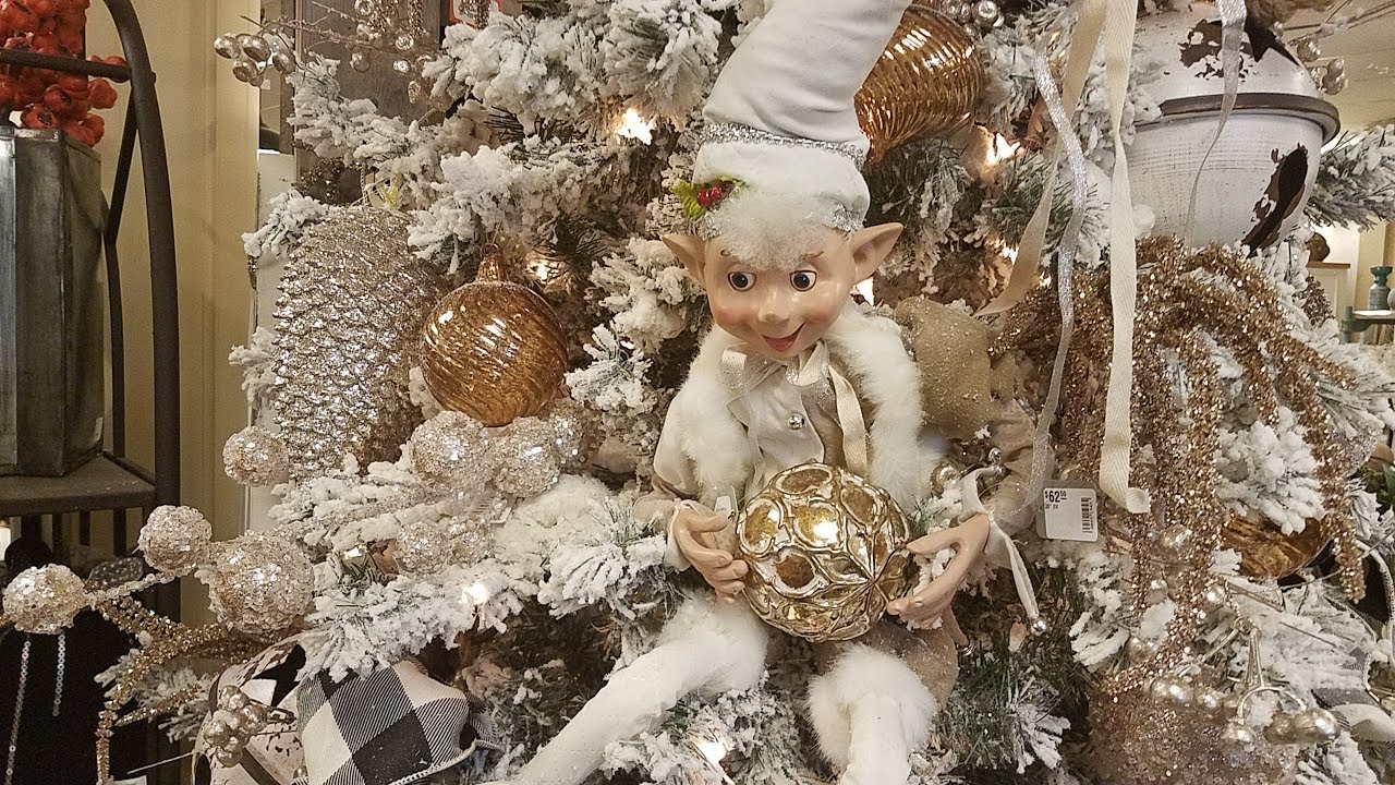 shop with me for christmas 2018at home hobby lobby jcpenney more plus see what i bought decorating with barbara - Jcpenney Christmas Decorations