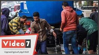 محافظة الجيزة توفر سيارات مياة تزامنا مع إنقطاعها