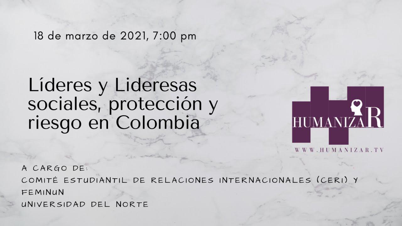 Taller Líderes y Lideresas sociales protección y riesgo en Colombia