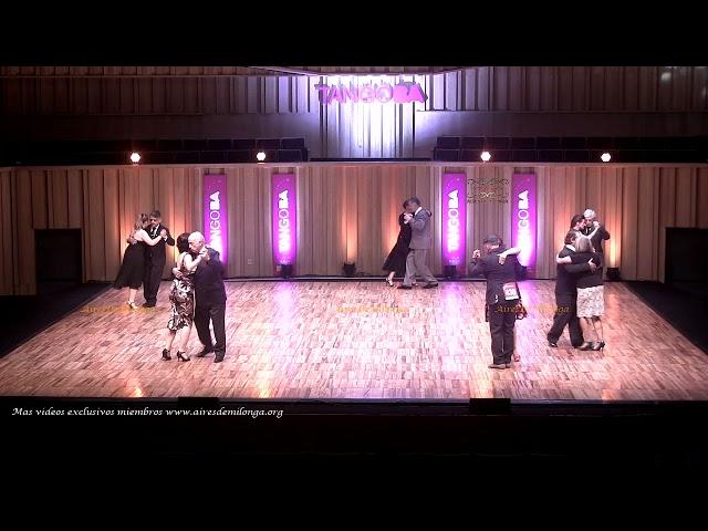 Mundial de tango  2021 Ronda 18 Pista, tema 2de3 Tango Buenos Aires #TangoBA