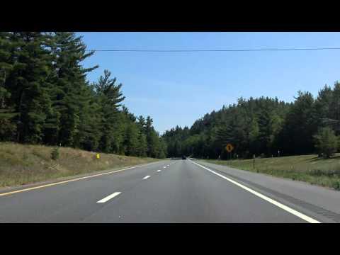 Adirondack Northway (Interstate 87 Exits 28 to 30) northbound