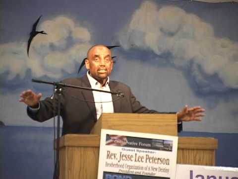 Jesse Lee Peterson at The Conservative Forum of Silicon Valley~ Part 2 of 2