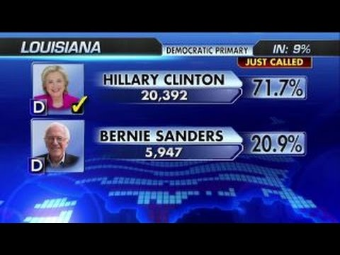 Hillary Clinton wins Louisiana Democratic primary