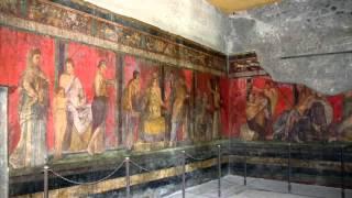 Фриз Дионисия, Вилла Мистерий, Помпеи(Dionysiac frieze, Villa of Mysteries, Pompeii., 2014-11-21T11:06:09.000Z)