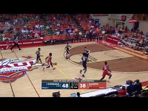 Highlights: Illinois vs. Gonzaga | Big Ten Basketball | Maui Invitational