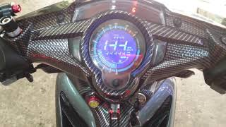 Speedometer full digital lcd new jupiter mx 135