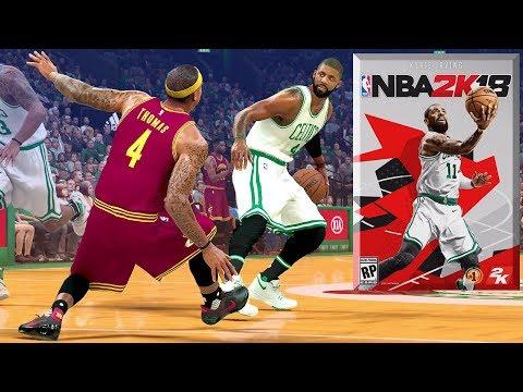 NBA 2K18 New Cover? & Kyrie Will BREAK Isaiah Thomas' Ankles!