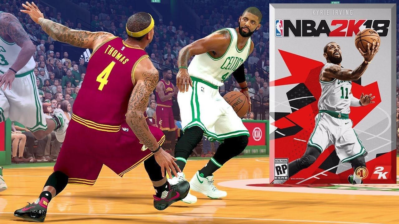 new arrival f2b83 89225 NBA 2K18 New Cover? & Kyrie Will BREAK Isaiah Thomas' Ankles!