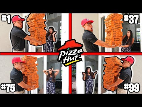 Delivering 100 PIZZAS to the SAME HOUSE!