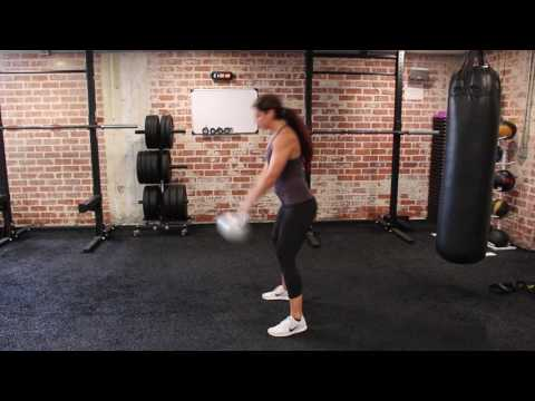IRON Gym Santa Monica Kettlebell Swing