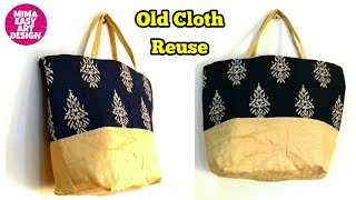 Best use of waste cloth |PURSE MAKING TUTORIAL | How to make Handbag using waste clothes