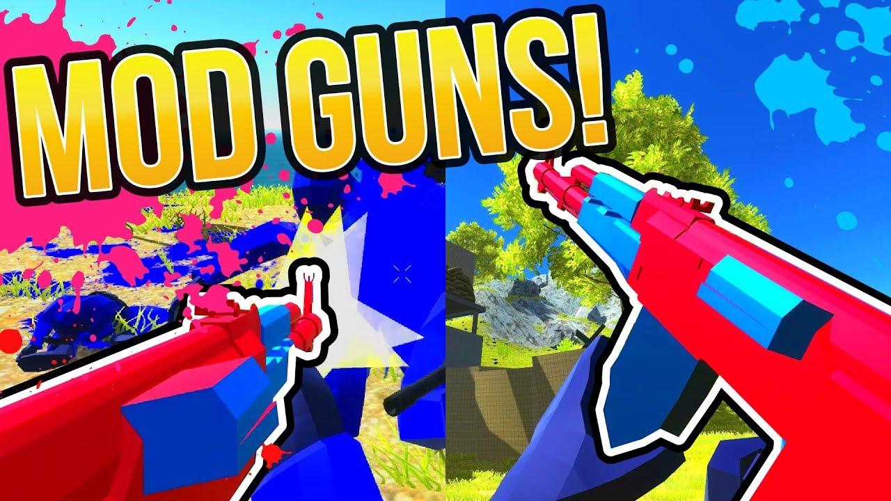 RAVENFIELD NEW OFFICIAL GUN MODS DOWNLOAD & MODDING TUTORIAL | iwanPlays'  Acapella AK-47 Rifle
