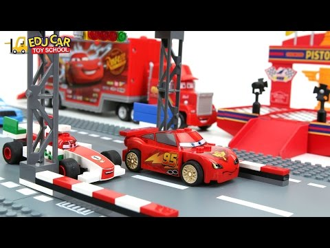 Thumbnail: Learning Color Number With Disney PIXAR Cars Lightning McQueen Mack Truck LEGO for kids car toys