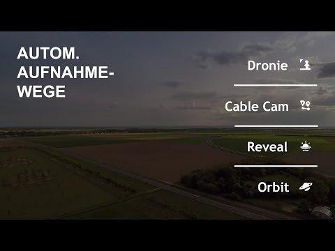 Gopro Karma #08 - Dronie, Cable Cam, Reveal & Orbit [deutsch/german]