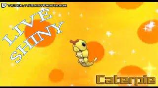 LIVE Shiny Caterpie (70) Eggs in Pokemon ORAS