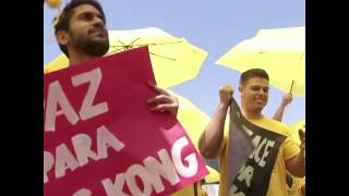巴西民众举行集会抗议中国国家主席习近平访问巴西
