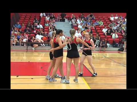 National Jump Rope Skipping Competition - YouTube