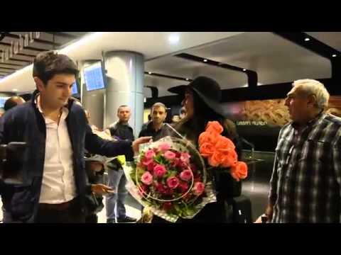 VARDA прибытие в Ереван 14.10.2014г.