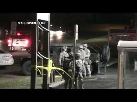 Military Occupation of Ferguson Derails Major action by Protesters
