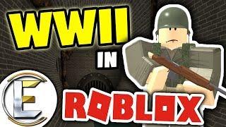 GUERRA MUNDIAL 2 EM ROBLOX | É como COD World em guerra-Roblox WWII-Alpha