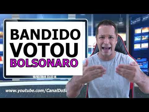 BANDIDO VOTOU BOLSONARO