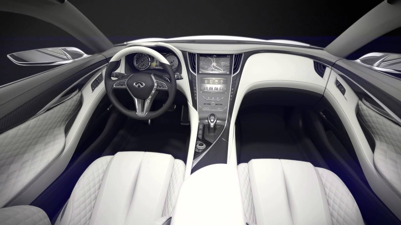 Infiniti Q60 Coupe Concept Interior Youtube