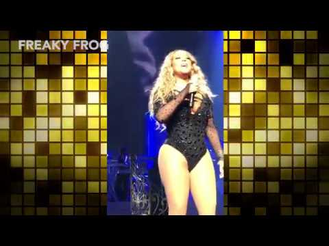 OMG! Mariah Carey live: what's happened? In Caesar Palace, Las Vegas she lost her shape