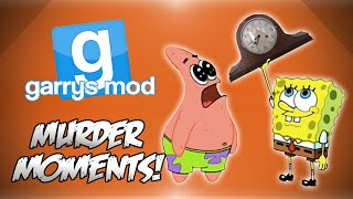 GMod Murder! - Catapult Fun, Convict Nanners, Spin The Clock & More! (Funny Moments)
